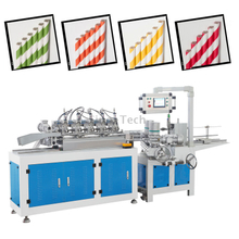 complete full project supplier for Drink Drinking Paper Straw Making manufacturing Machine (including slitting packing wrapping Manufacturing equipment)