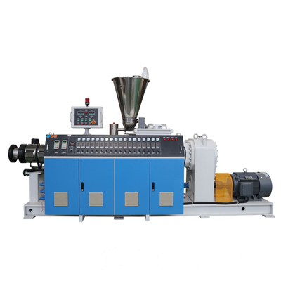 PVC conical twin screw extruder